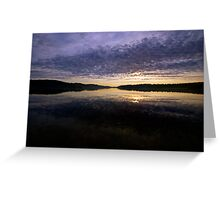 Earth, Sky & Water - Narrabeen Lakes, Sydney, Australia - The HDR Experience Greeting Card