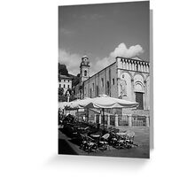 cityscapes #225, all waiting Greeting Card