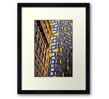 Compare / Contrast  Framed Print