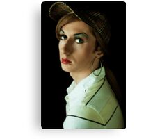 Girl With A Hoop Earring Canvas Print