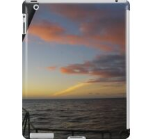 Sunset, Sailing on Milford iPad Case/Skin