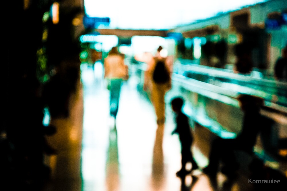 A part of human life; the airport...:On featured work by Kornrawiee