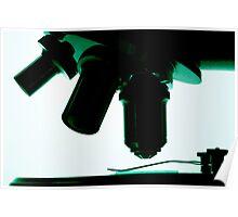 Microscope lenses Poster