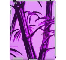 pink geometric bamboo iPad Case/Skin