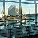 Reflecting on the Opera House by Karen Tregoning