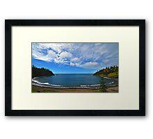 Ball Bay - Norfolk Island Framed Print