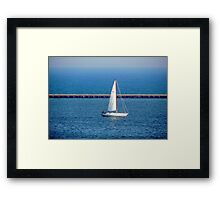 Where the breeze blows © Framed Print