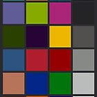 Colour Checker Chart iphone by Naf4d
