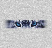 Snow Leopard Eyes One Piece - Long Sleeve