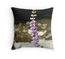 Broadleaf Lupine Throw Pillow