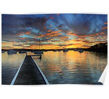 Bolton Point Sunset Poster