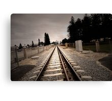 On Track Canvas Print