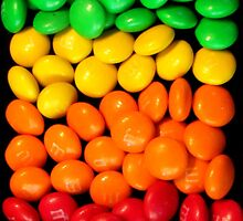 Rainbow of yumminess by Nicki Baker