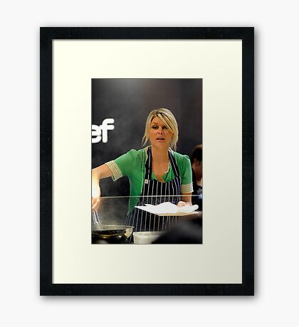 MasterChef | Courtney Roulston | Series 2 Framed Print