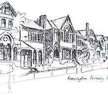 Kensington Primary School Melbourne. Elizabeth Moore Golding© by Elizabeth Moore Golding