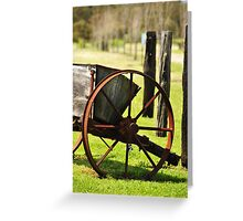 Cart Greeting Card