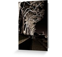 Tree Horror Greeting Card