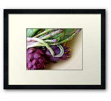 A is for....... Framed Print