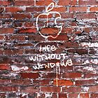 &#x27;Life Without Windows&#x27; Graffiti by Alisdair Binning