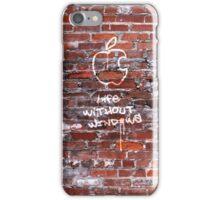 'Life Without Windows' Graffiti iPhone Case/Skin