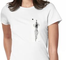 An east woman Womens Fitted T-Shirt