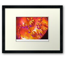 Autumn Bubbles To Cure Your Troubles Framed Print