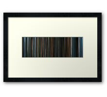 Moviebarcode: The Piano (1993) Framed Print