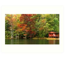 The Fly Shop At Beavers Bend Art Print