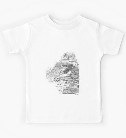 A remain from the Temple of Jupiter (Cumae, Italy) Kids Tee