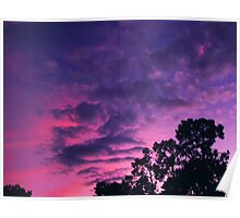 """""""Southern Sunset"""" Poster"""