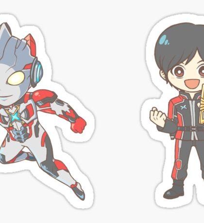 [Ultraman] X - X/Ozora Daichi Stickers Sticker