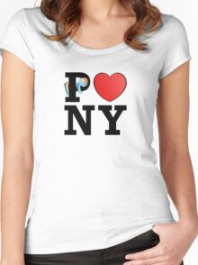 I <3 PONY Women's Fitted Scoop T-Shirt