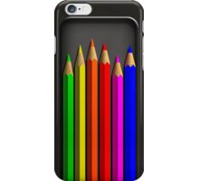 Coloured Pencils iPhone Case/Skin