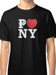 I <3 PONY (BLACK) Classic T-Shirt