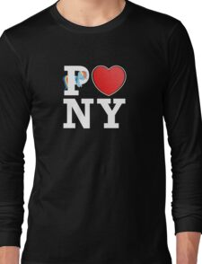 I <3 PONY (BLACK) Long Sleeve T-Shirt