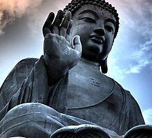 Tian Tan Buddha by Cara Gallardo Weil