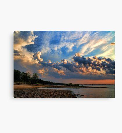 Wonderful Clouds Canvas Print