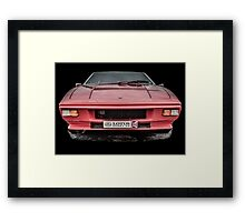 A Classic Lotus Elite Framed Print