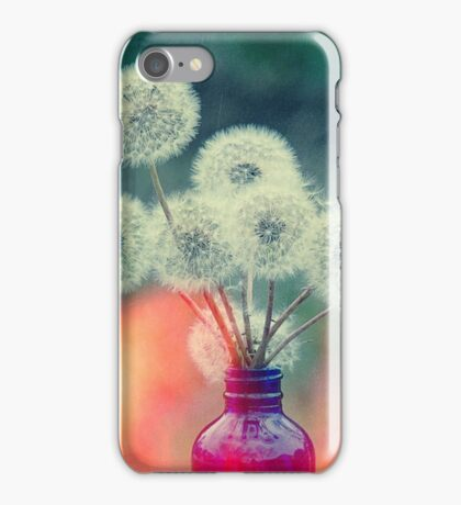 Dandelion Bouquet Lomo SQ iPhone Case/Skin