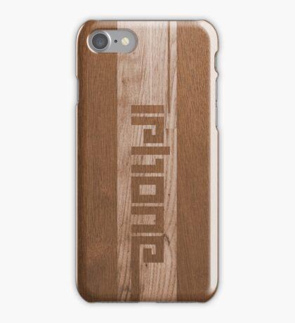 Two-tone Wood Effect iPhone Case/Skin