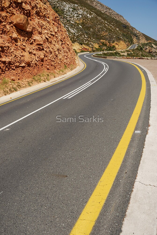 Costal road by Sami Sarkis