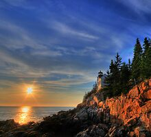 Bass Harbor Lighthouse by Sharon Batdorf