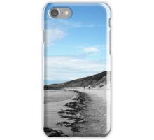 Walk Along The Coast iPhone Case/Skin
