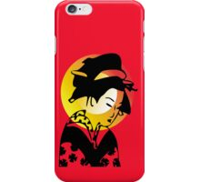 Sunrise Geisha iPhone Case/Skin