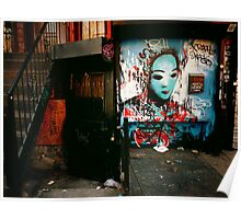 Urban Fragments - Lower East Side - New York City Poster