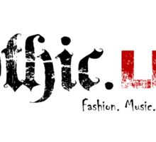 Gothic.Life Sticker with White Background Sticker