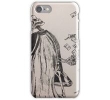 Poor Mr Skeleton iPhone Case/Skin