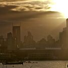Melbourne at dawn by Linda Sparks