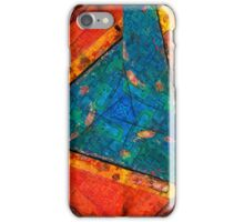 Abstract Red :: Yellow :: Blue - iPhone case iPhone Case/Skin