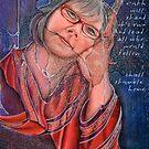 Self Portrait, 51 Uncut by Alma Lee
